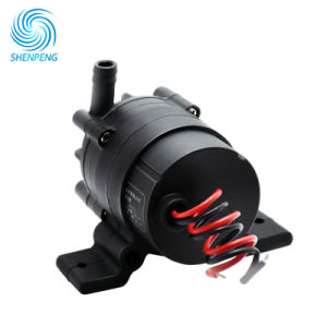 Pomp van de Ventilator van gelijkstroom de Mini12V Water Gekoelde met Hoofd 6m