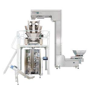 Pesaje Vertical Automática Máquina de embalaje Bolsa de avellana Chocolate