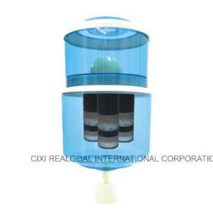 Pilhas alcalinas OEM Filtro Mineral panela de água do tanque do reservatório 12L 14L 16L 20L 28L óleos minerais Purificador de Água Pot adequado para qualquer água filtrar