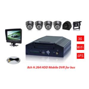 8CH 3G Vehicle Mobile DVR mit GPS Modules, Used für Car/Truck/Coach/Bus/Taxi
