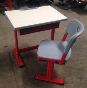 学校のFurnitureの教室Furniture、School Adjustable Kids DeskおよびChair