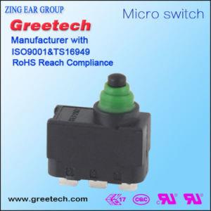 Miniatuur Gevoelige Waterdichte Micro- 3A/250V Schakelaar voor ElektroHulpmiddelen