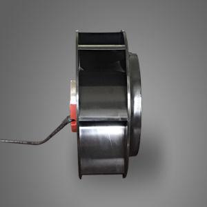 225 achterwaartse Gebogen CentrifugaalVentilator Drie van het Kabinet van Telecommunicatie Snelheid