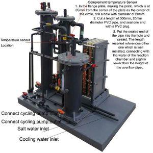 2016最もよい価格の販売のための高い濃度5%ナトリウム次亜塩素酸塩の発電機