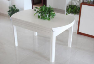 Твердый деревянный обеденный стол (M-X2155)