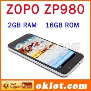 2GB Steun 4.2 OTA/OTG van de Telefoon van de Cel FHD Mtk6589t 1.5GHz 1920X1080 van ROM Zopo Zp980 van de RAM 32GB Slimme Androïde