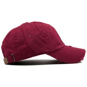 Bordados personalizados baratos Papá Hat 6 Panel Gorra de béisbol