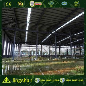 Полуфабрикат торговый центр Steel Structure с BV Approved (LS-SS-151)