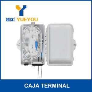 4 Puertos Protectio Contra Polvo Y Chorros de Agua Fuerte 1*4 PLC Splitter Caja de Terminacion Optica