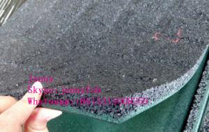 運動場のゴム製体操の床のマット/パン粉のゴムタイル