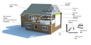 Prefabricated 쉬운 조립된 조립식 가벼운 강철 구조물 별장 집