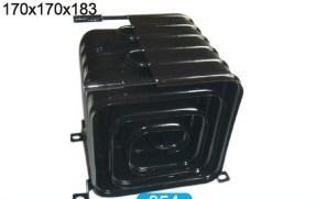 Geladeira refrigerador de água no tubo condensador do Fio