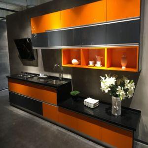De populaire Moderne Europese Keukenkast van de Lak van de Stijl