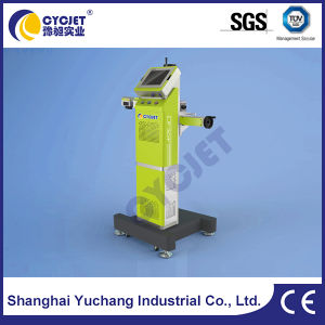 30W machine de marquage au laser à haute vitesse pour les câbles