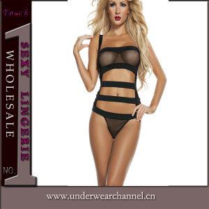 Sexy Venta caliente mujer camisa lenceria (TFQQ0955)