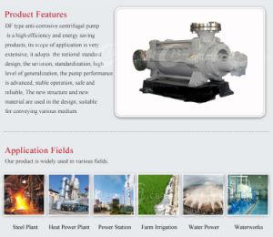 Solo en varias etapas de succión de bomba centrífuga de Agua Potable