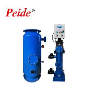 Sistema de limpeza do tubo do condensador de água de refrigeração
