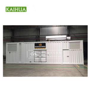 gruppi elettrogeni del MTU 2400kw/3000kVA con il motore diesel del MTU