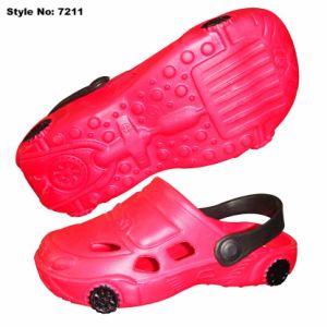 Forme de voiture Cartoon Kids de sabots, EVA de sabots sandales