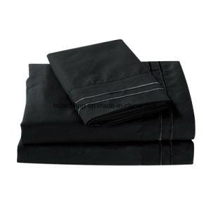 卸売100%年のポリエステルタケ柔らかい織物の寝具シートセット