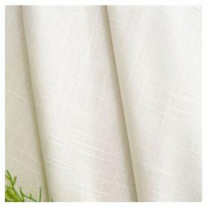 A roupa de cama de algodão, tecidos Slub7sx7s para o vestuário, têxteis,