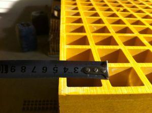 Superficie cóncava FRP Rejilla de fibra de vidrio.