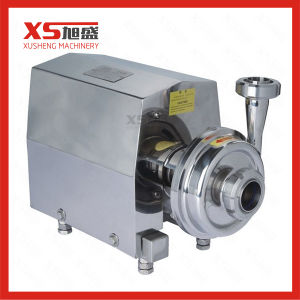 O ZB3A-3 0.55kw instalações sanitárias em aço inoxidável da bomba de lóbulo rotativo