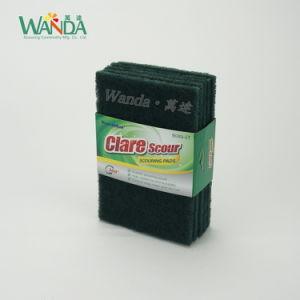 Общая цель - темно-зеленый Non-Abrasive губки с абразивным покрытием правой панели