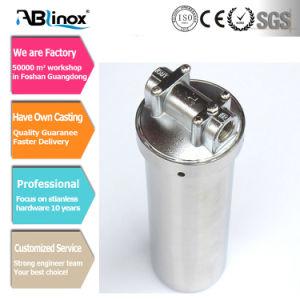 Aço Inoxidável Personalizada do alojamento do filtro de cartucho