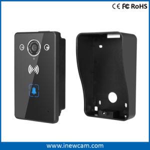 La macchina fotografica senza fili del campanello con il periferico sblocca la funzione del portello