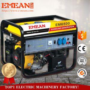 小さい力によって5kwは家へ帰る電気Stater (6500AE)のガソリン発電機が