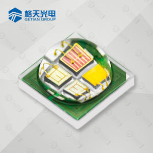 Fuente Chip exclusivo 4W RGB LED blanco cálido