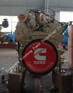 構築のためのKta38-P980 731kw/1500rpm Ccec Cummins Vの対のディーゼル機関は水ポンプを機械で造る
