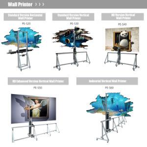 3D Effect High Resolution DIY Vertical Inkjet Wall Printer Machine