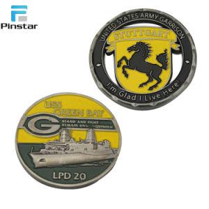 정지한다 채워진 연약한 사기질을%s 가진 쳐진 금관 악기 동전을 주문 설계하십시오