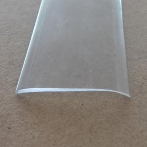 De plastic Strook van pvc van de Uitdrijving Duidelijke Plastic Vlakke