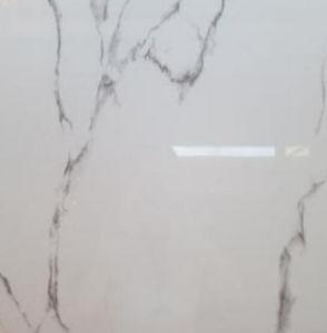 Marmer van de Kleur van het Bouwmateriaal kijkt het Bruine de Verglaasde Opgepoetste Tegel van het Porselein voor Bevloering