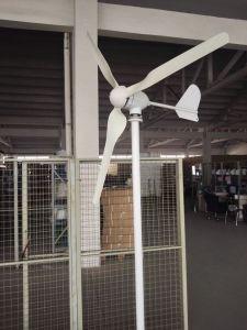 Генератор ветра китайской ветротурбины дома 800W малый