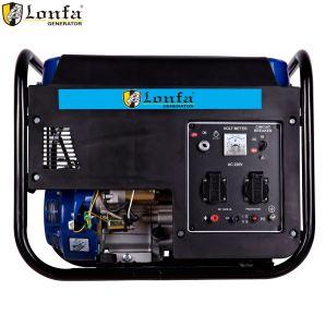Loncin 6.5HP 2.5kVA 2.5kw portátil do tipo gasolina/Conjunto do gerador a gasolina