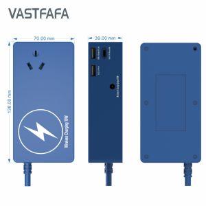 Internationale Veelvoudig allen in Één Universele Adapter van de Reis met Lader 4 USB