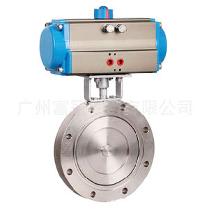 Stainless Steel Pneumatic Vacuum Butterfly Valve