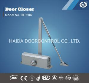 Алюминиевые двери ближе Ce и UL Сделано в Китае двери более тесного
