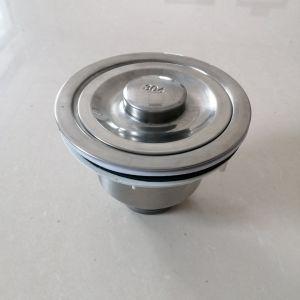 Buon dispersore dell'acciaio inossidabile della ciotola del doppio del mercato con il dispersore degli articoli della cucina del rubinetto (7540Q2)