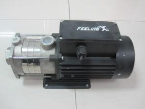 Pompe centrifuge à plusieurs degrés horizontal
