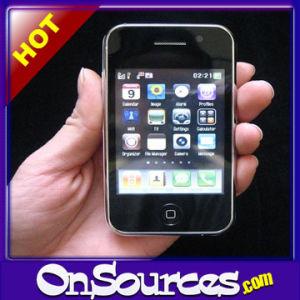 Cellulare dello schermo di tocco della fascia del quadrato TV con il appoggio doppio della carta di SIM + macchina fotografica doppia (2GB liberano)
