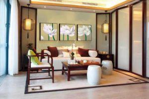 Китайский стиль Classcial Wholsale обоев виниловых обоев цветов из ПВХ обои