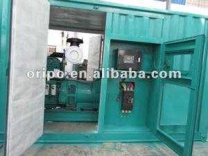 Venta directa de fábrica para el 1200kVA Cummins grupo electrógeno de contenedores en Guangzhou, la Feria de Cantón