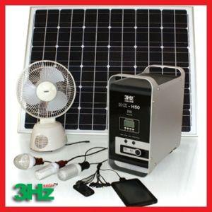 100W système solaire, énergie solaire les fonctionnalités du système d'accueil