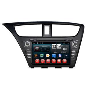 Honda Civic 2014 인조 인간 차 중앙 오락 DVD GPS 선수