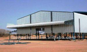 La luz de los proyectos de edificios con estructura de acero